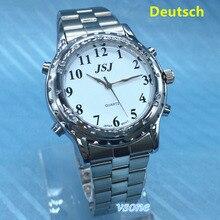 Deutsch Sprech Falando Relógio para Cegos ou Deficientes visuais Alemão