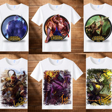 Game league of legends LOL Charactor Print Shirt Star Guardian Soraka Cosplay Costume The Starchild Man Women Tops Tees(China)