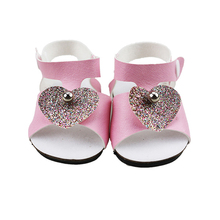 18-inch Doll Accessories-My Little Baby Shoes fit 18 doll-Toy Handmade Sandal for Girls Gifts