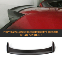 Carbon Fiber Car Rear Roof Window Boot Lip Wing Spoiler for Volkswagen VW Scirocco Standard Only 2008 2013 Non for R