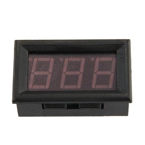 Mini ammeter digital ammeter led Panel meter 0-50 LED red