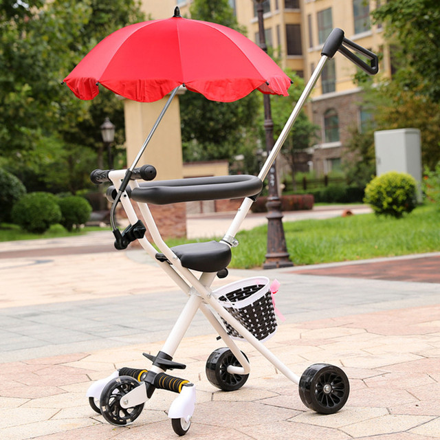 Portable Baby Tricycle Toddler Strollers Trolley For Kids 2 5 Years