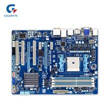 Gigabyte GA-A75-D3H оригинальный использоваться для настольных ПК A75-D3H A75 разъем FM1 DDR3 SATA3 USB3.0 ATX