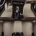 Флэш-мат кожаные автомобильные коврики для BMW e30 e34 e36 e39 e46 e60 e90 f10 f30 x1 x3 x4 x5 x6 1/2/3/4/5/6/7 car аксессуары для укладки