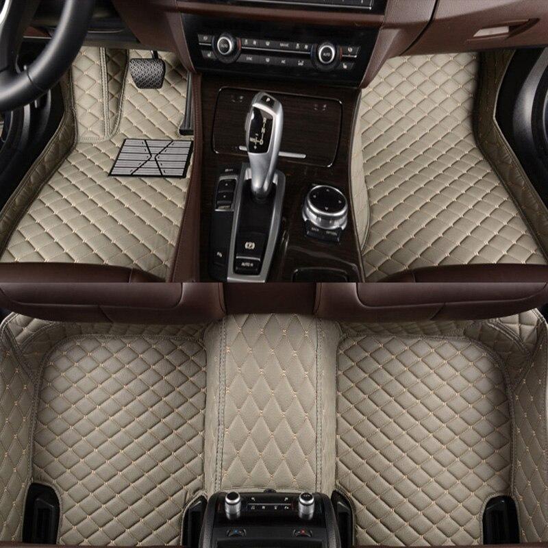 Flash tapis en cuir tapis de sol de voiture pour BMW e30 e34 e36 e39 e46 e60 e90 f10 f30 x1 x3 x4 x5 x6 1/2/3/4/5/6/7 voiture accessoire coiffure
