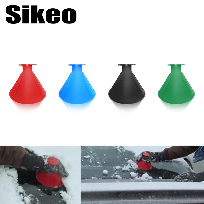 Best Ice Scrapers Snow Removers Scrape A Round Magic Cone Shaped