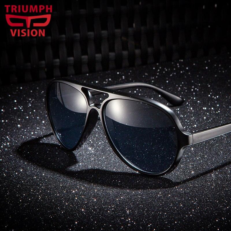 TRIUMPH VISION Black Aviator...