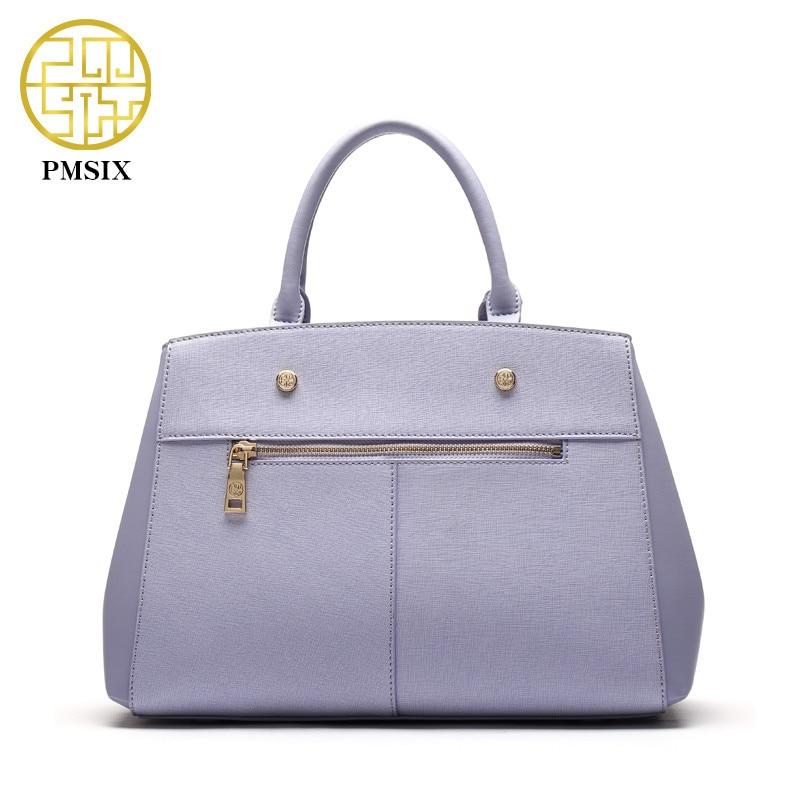 Pmsix Dames Vee Split Leathe Tas Nieuw Ontwerp Dames Messenger Bags - Handtassen - Foto 3