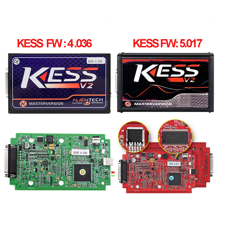 2017 KESS V2.32 FW V4.036 KESS V5.017 Optional Tuning Kit without Token Limited ECU chip tuning Kess Tuning Kit KESS V2 Master ktag k tag ecu programming ktag kess v2 100% j tag compatible auto ecu prog tool master version v1 89 and v2 06