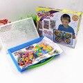 Коробка упакованы 296 Зерна Гриб Ногтей Бисер 3D Головоломки Игрушки для Детей Интеллектуальные Пластиковые Дети Обучающие пазлы Игрушки W250