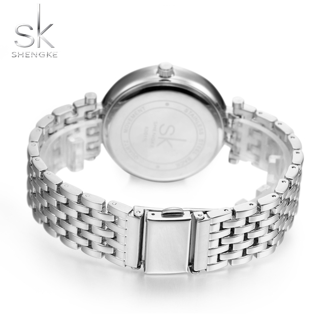 Luxury Women Watch Crystal Sliver