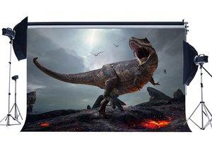Image 1 - 3D Dinosauro Sfondo Jurassic Periodo Del Fumetto Fondali Spaventoso Volare Dinosauro Fairytale Fotografia di Sfondo