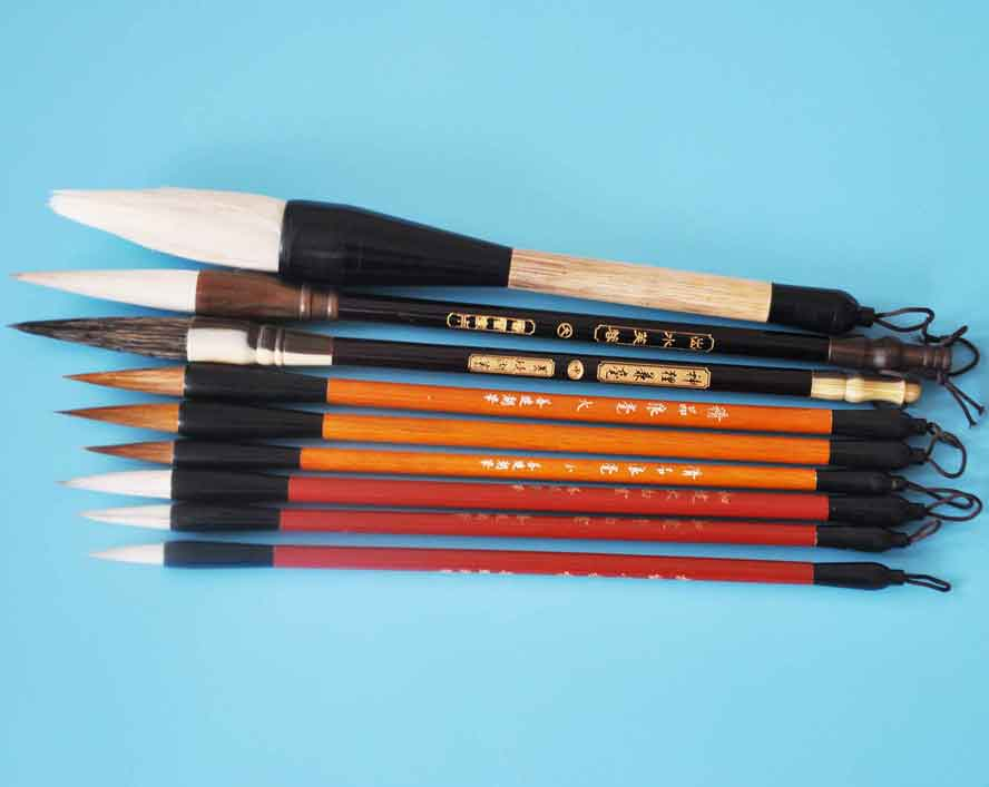 High Quality chinese calligraphy brush set