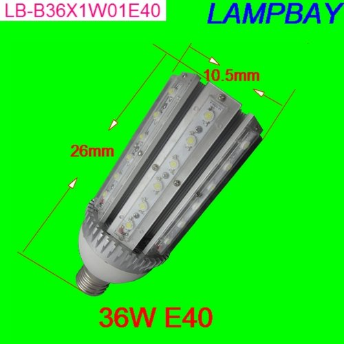 LED corn bulb 36W E40 hihg quality high lumens street light highbay lole капри lsw1349 lively capris xl blue corn