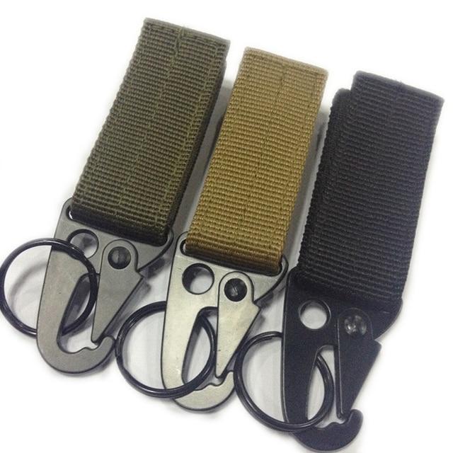 1d5ed05e54 Militare Outdoor Ganci per Borse Army Green Black Khaki Olecrano Tessitura  di Nylon Zaino Gancio di