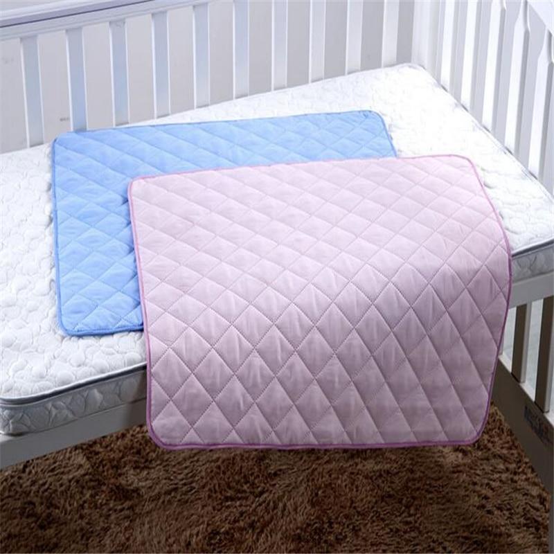 Hohe Qualität Sofort absorbieren Urin Infant Ändern Pads Rückseite Wasserdichte Matratze Baumwolle Atmungsaktiv Babywindeln M