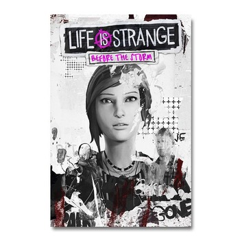 Плакат гобелен Life Is Strange: Before the Storm Шелк