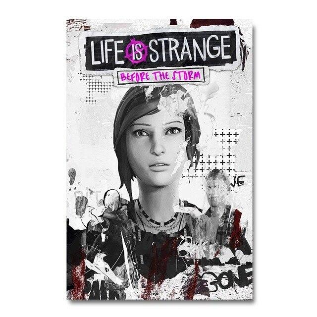 Плакат гобелен Life Is Strange: Before the Storm Шелк