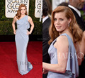 Amy Adams Sexy One-shoulder Pleated 2016 72nd Golden Globe Awards Mermaid Sleeveless Sexy Chiffon Evening Gowns Elegant gowns