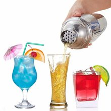 Pors Shaker do koktajli ze stali nierdzewnej mikser do wina Martini Shaker Boston do barmana Drink Party akcesoria barowe 550ML/750ML