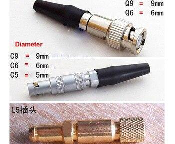 Defektoskop Kabel Do Równości LEMO 01 Do LEMO 01 Krautkramer C9-C9