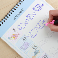 New Groove Animal Fruit Vegetable Plant Super Meng Stick Figure Baby Drawing Book Coloring Books For