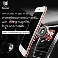 Baseus Magnetic Car Air Vent Mount 360 Degrees Rotation Aluminum Cell Phones Tablets Mount Holder Stand Universal Car Holder