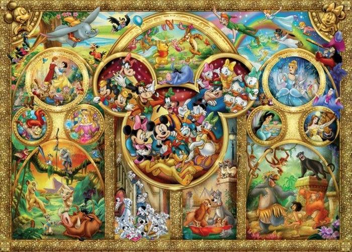 3D Diamond Embroidery cartoon picture diamond Painting Cross Stitch mouse pattern round diamond art DIY Craft Home Decor