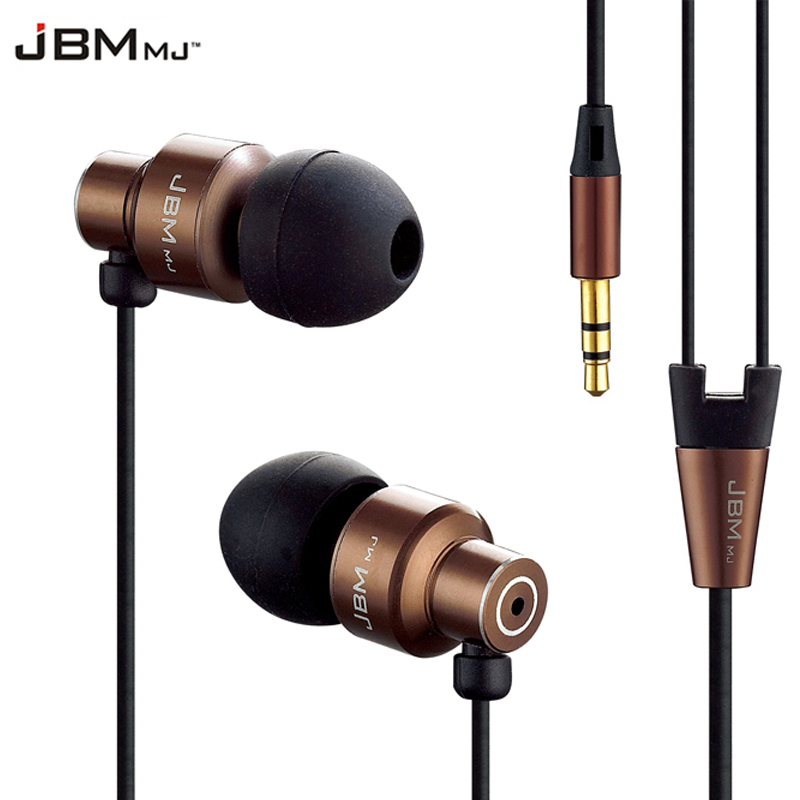 Originale DAONO i-7 Bass Auricolari In-Ear Super Clear Metallo Auricolare Noise Isolamento Auricolari Per iphone 6 Meizu Xiaomi MP3 PC