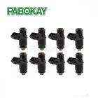 8 pieces x Short 80LB 875cc Fuel Injectors For Chevrolet Dodge EV1 Replaces FI114700