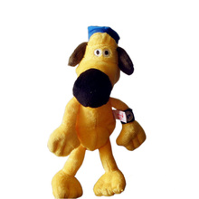 Горячая Распродажа 25 см мультфильм Дой плюшевые игрушки каваи чучела хлопок животное овца Шон битцер собака плюшевые куклы игрушки Дети День рождения подарки