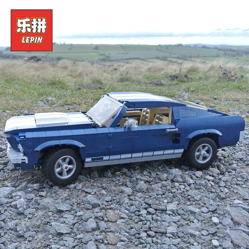 Lepin 21047 Créateur Ford Mustang Classique Sport modèle voiture blocs de construction Compatible Legoinglys 10265 Technique De Voiture jouets pour enfants