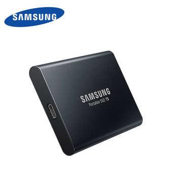サムスン外部 SSD T5 250 ギガバイト 500 ギガバイト 1 テラバイト 2 テラバイトハードドライブ外部ソリッドステートドライブのディスクの Hdd gen2 (10 Gbps) ノート Pc デスクトップ用