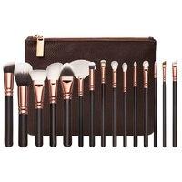 NEW 15PcsEye Makeup Brushes Set Eyeshadow Blending Brush Powder Foundation Eyeshadading Eyebrow Lip Eyeliner Brush Cosmetic
