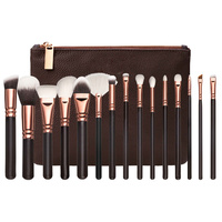 NEW 15PcsEye Makeup Brushes Set Eyeshadow Blending Brush Powder Foundation Eyeshadading Eyebrow Lip Eyeliner Brush Cosmetic