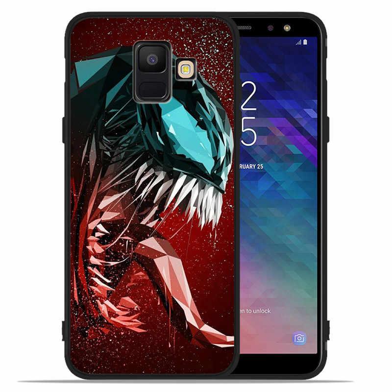 Luxe Marvel joker venin Capitaine Pour Samsung Galaxy A9 A8 A7 A6 A5 A3 J3 J4 J5 J6 J8 Plus 2017 2018 housse de téléphone Coque Etui
