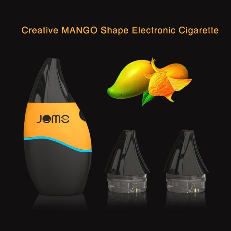 100% Authentic Jomotech F1 Mango Kit Vape 2ml eliquid Atomizer Tank Built in 800mAh Vaporizer Working Voltage 4.2V E-Cigarette
