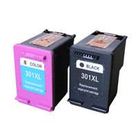One Black One Color 301 XL Re Manufactured Compatible Ink Cartridge For DeskJet 2511 2512 2514