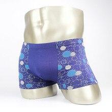 Students Underwear 2016 Big Kids Panties Mens Underpants Boxers Modal Boxer Men Printed Boxer Shorts Boxers 4Pcs\Lot