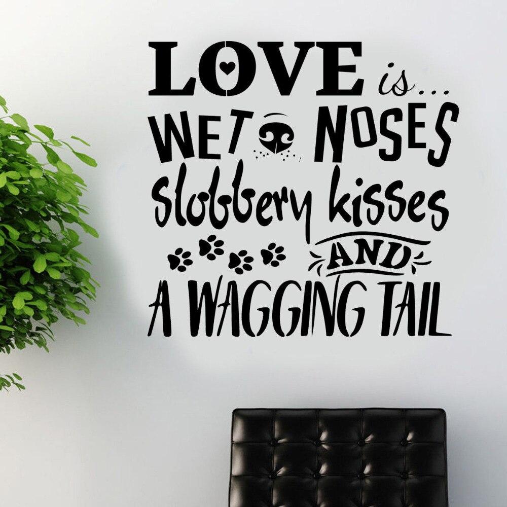 popular vinyl wall decor buy cheap vinyl wall decor lots from 2017 new design dog wall sticker art decal transfer pet grooming quote vinyl wall decor vinilos