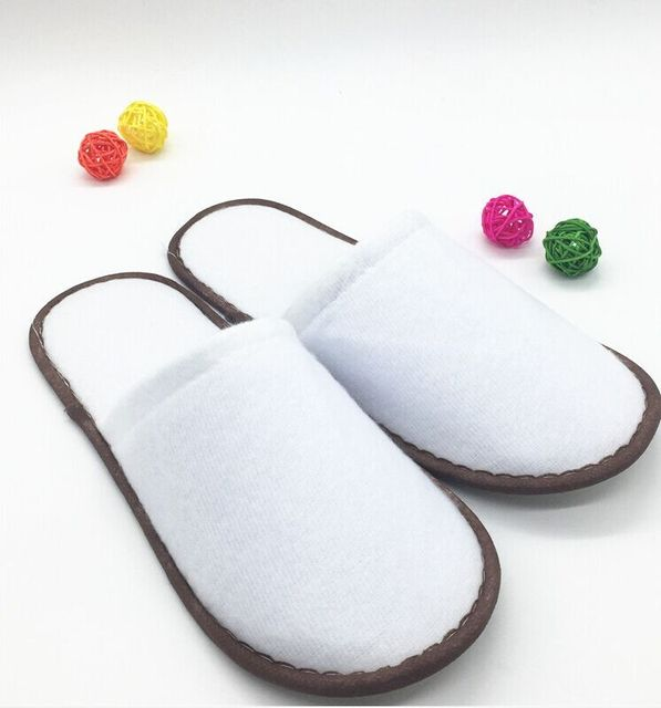 Free Shipping Brand New 20pairs/lot Disposable Hotel and Restaurant Supplies Ramab slipper Wholesale 2