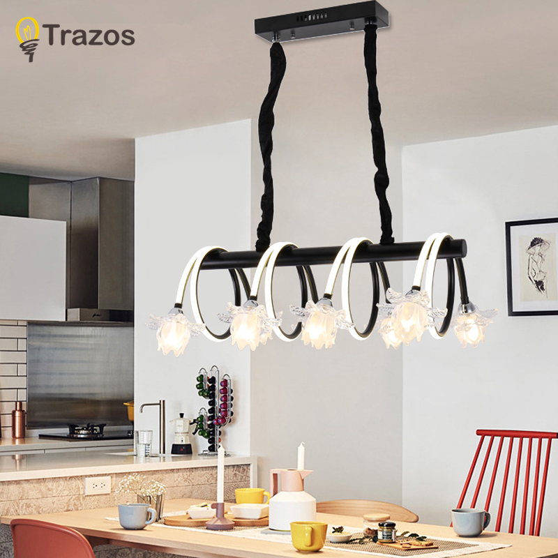 New Modern Chandeliers lights for living room dining room 4/3 Circle Rings acrylic LED Lighting ceiling Lamp fixtures dragonscence new modern led chandelier lights for living room dining room 4 3 2 1 circle rings acrylic ceiling lamp fixtures