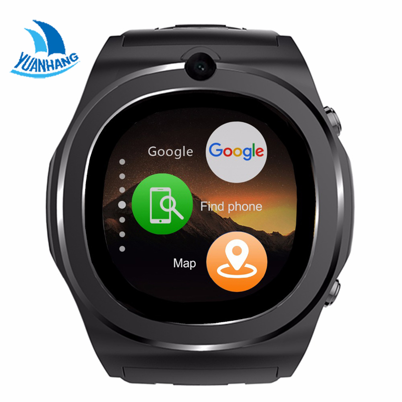 Yuanhang Smart Watch MTk6580 Support SIM SD Card Facebook Bluetooth WIFI GPS Location Camera Android 5.1 Cell Phone For IOS children s smart watch with gps camera pedometer sos emergency wristwatch sim card smartwatch for ios android support english e