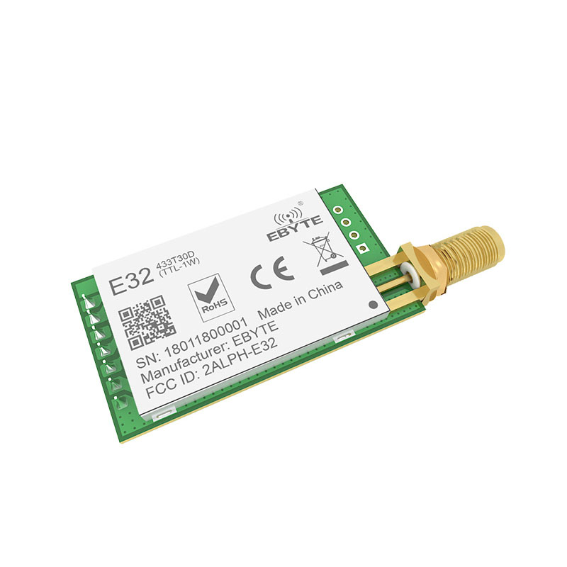 Image 3 - LoRa SX1278 SX1276 TXCO 433MHz 1W rf Module E32 433T30D lora Transmitter UART 433t30d Long Range 8000m Wireless rf Transceiver-in Fixed Wireless Terminals from Cellphones & Telecommunications
