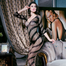 Hot Women Sexy lingerie Sleepwear bodystocking sexy See Through Costumes Sheer Mesh Underwear body