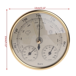 Image 5 - Wall Mounted Household Barometer Thermometer Hygrometer Weather Station Hanging J12 dropshipping