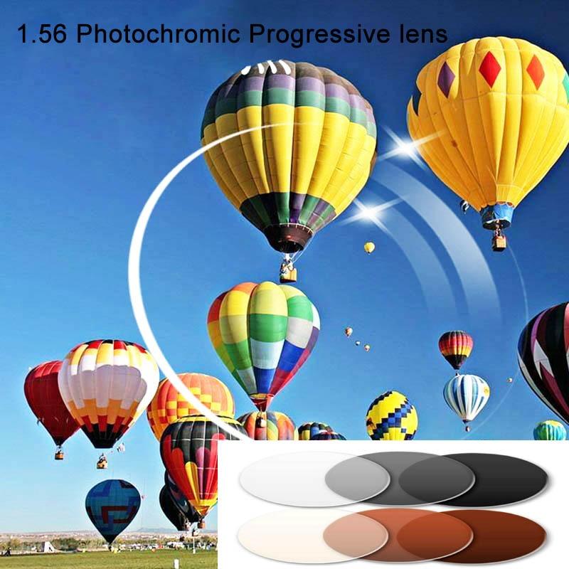 Factory Price 1 56 Inner Free Form Photochromic Multifocal Prescription Lens Sunglasses Transition Progressive Lenses