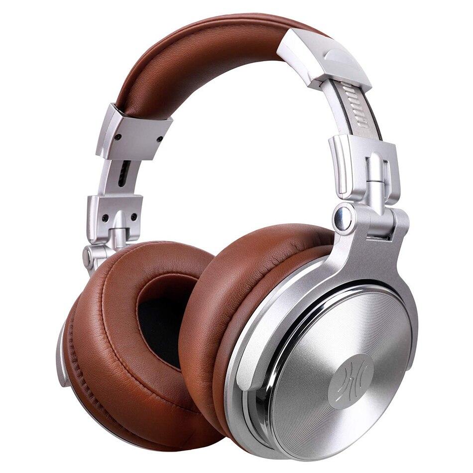 Oneodio Sobre fones de Ouvido Gaming Headset Fones de Ouvido Do Monitor Com 3.5/6.3mm Jack De Áudio de Graves Profundos Hifi DJ Fones De Ouvido Com microfone estéreo