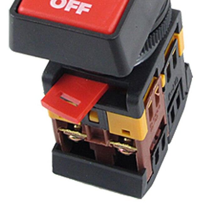 Start//Stop CNC Bouton Poussoir Interrupteur Étanche Boîtier de commande 10 A