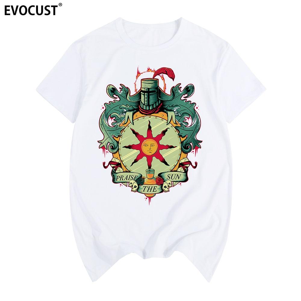 Dark Souls II 2 praise the sun Arteries T-shirt Cotton Men T shirt New TEE TSHIRT Womens unisex Fashion